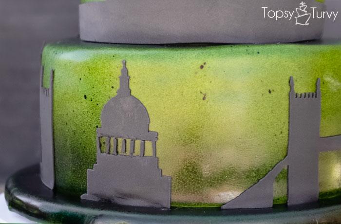 london-skyline-silhouette-shadow-ombre-fondant-birthday-cake