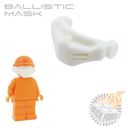 Ballistic Mask - White