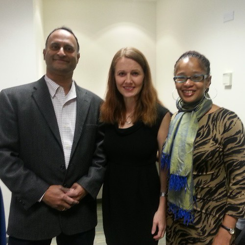 With Ananda Leeke and Andrea Weckerle at #CivilNation
