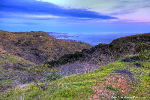 A Hill Over Looking the Pacific by smittysholdings