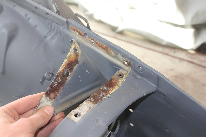 how to clean a motorcycle surface rust