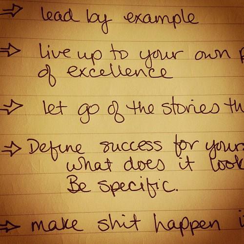 A plan.