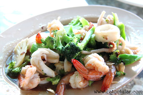 Seafood with Broccoli, Lao Intre