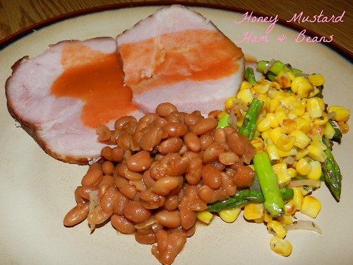 Honey Mustard Ham & Beans (8)
