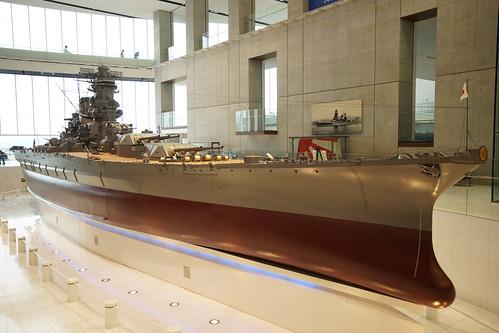戦艦大和 1/10スケール模型