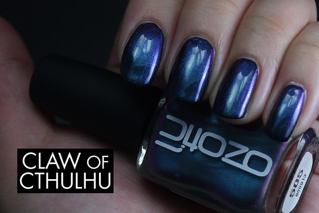 Ozotic 505 Swatch (over Cult Nails Nevermore)