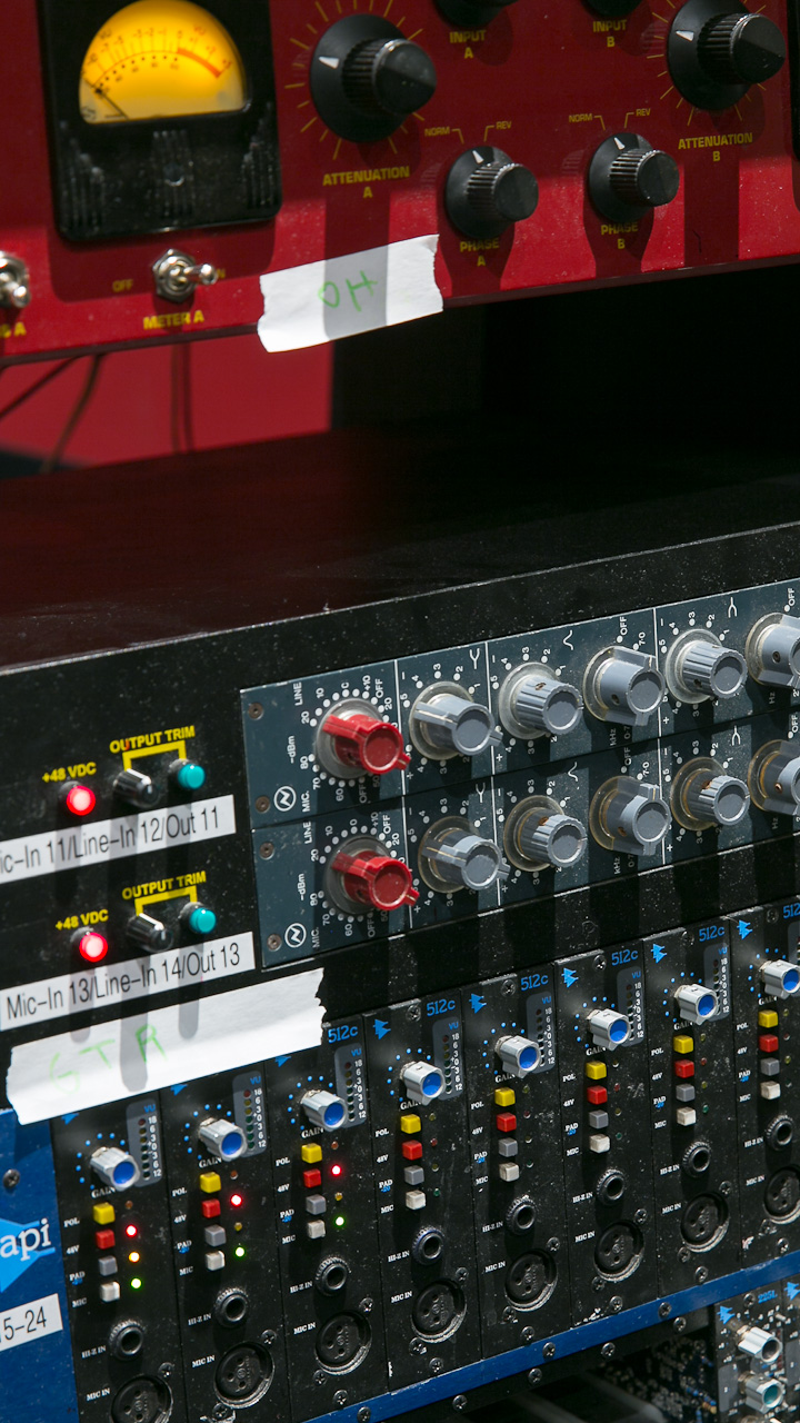 Mic Preamps Setup for the First Night