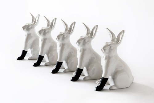 Scott Patt, Rabbit with foot, series of 20, black