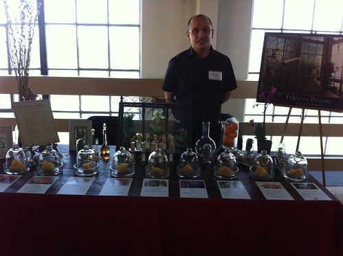 Mario T Gomez at EnVoyage Perfumery
