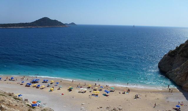 Turquie - jour 9 - Antalya Fethiye Yolu - 07 - Kaputaş plaji