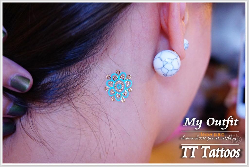 TT Tattoos金屬紋身貼 - 18