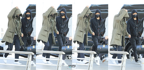 Big Bang - Incheon Airport - 01apr2015 - TOP - Utopia - 02