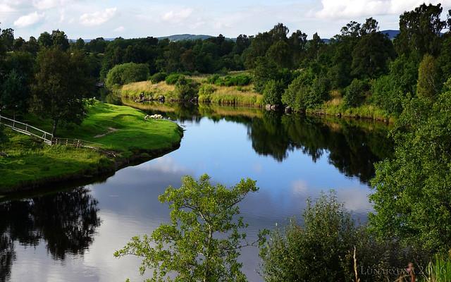 A true Scottish pastoral landscape