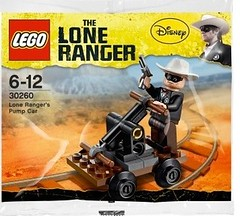 LEGO The Lone Ranger Lone Ranger's Pump Car Polybag (30260)