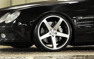 Mercedes SL55 AMG V8