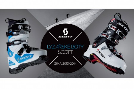 Značka SCOTT představí lyžařské boty 2013/14