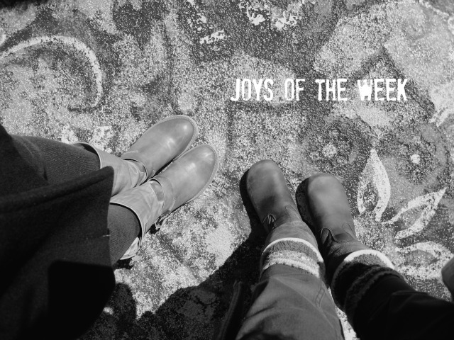 Neu Freitags...Joys of the Week mit dem Kleines Freudenhaus
