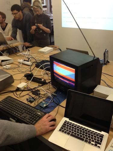 Atelier arduino connectée du 10/01/13