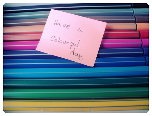 13/365- Have a Colourful Day
