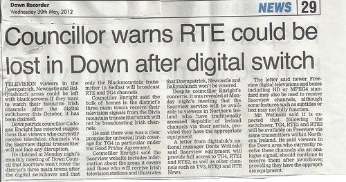 Councillor highlights RTE signal danger by CadoganEnright