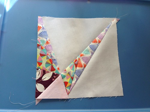 1/4 block paper piecing