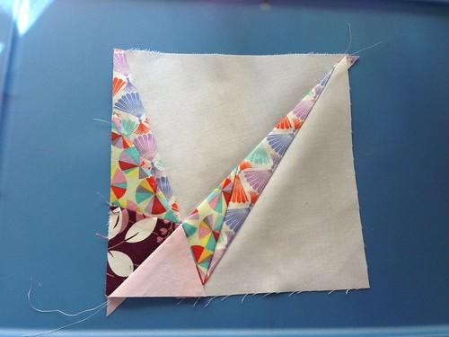 1/4 block paper piecing