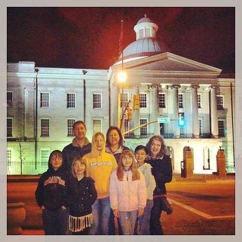 Geo-caching downtown Jackson.