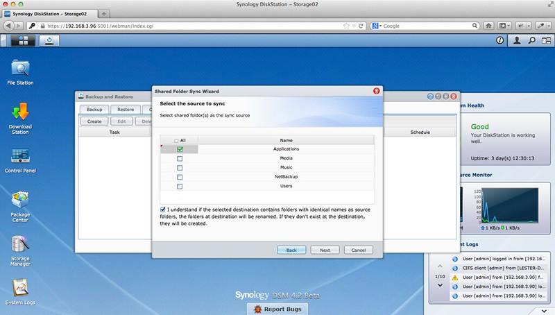 Shared Folder Sync - Step 3