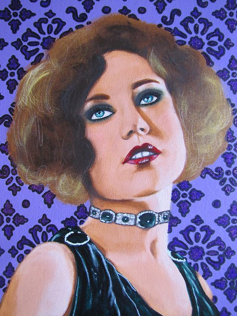 flapper painting