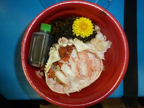 香箱ガニ丼 (石川県)