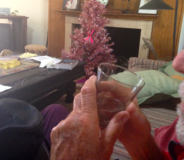 elderly relative likes soda water.