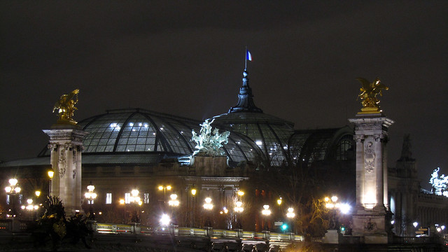 Grand Palais by night