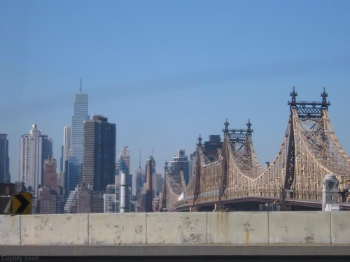 Queensborough Bridge by Coyoty