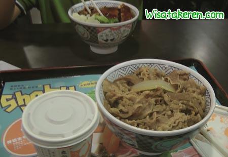 Beef Bowl Yoshinoya