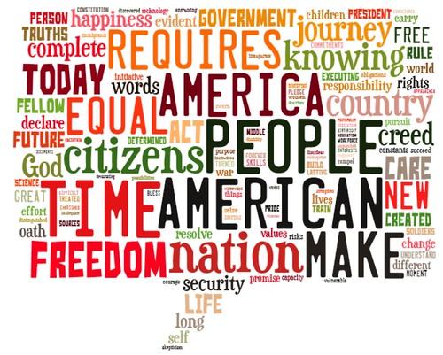 Comparing presidential inaugural addresses shift communications pr tagxedo creator freerunsca Choice Image