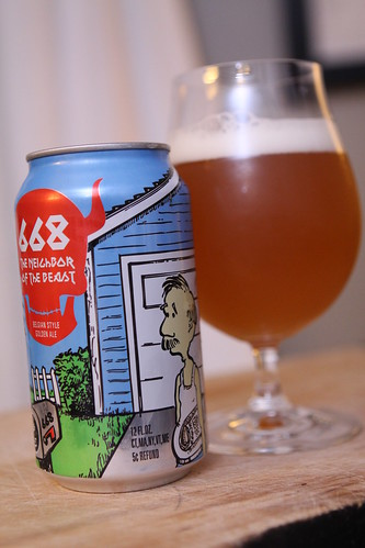 New England Brewing Co. 668 The Neighbor of the Beast