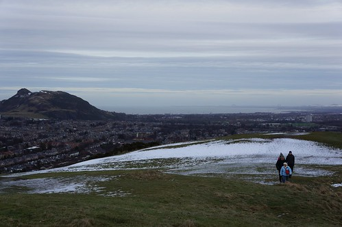 Looking Northwest from the top of Blackford Hill, Edinburgh
