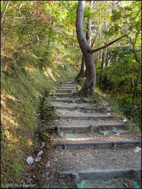 Climbing Otakamori