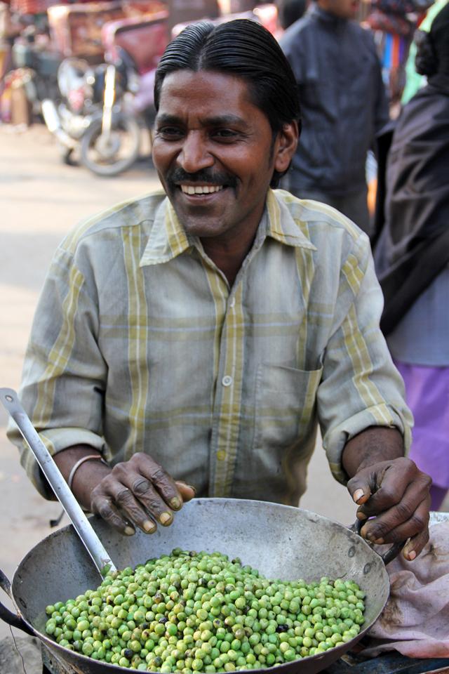 The Green Pea Man of Varanasi, India