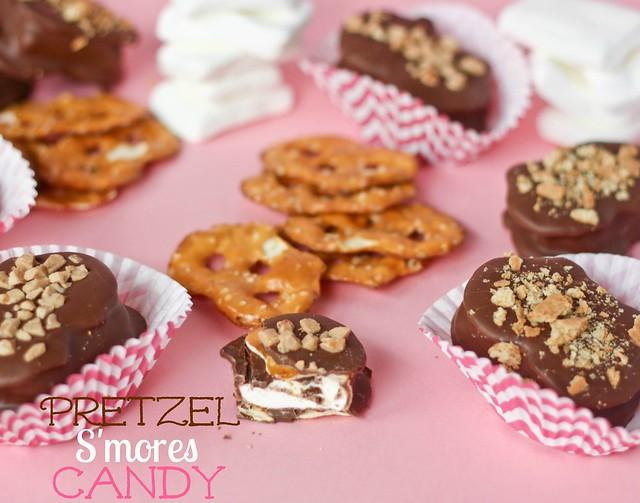 Pretzel S'mores Candy
