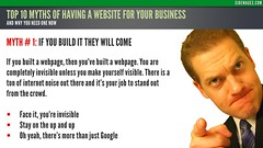 Myth 01: If Your Build They Will Come - Top 10 Myths Business Website - Sidewages