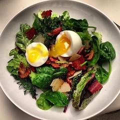 spinach salad, salad, vegetable, leaf vegetable, food, dish,