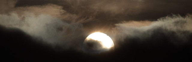 Venus Transit, 6/6/12, 04:47AM Welsh Highlands, Foxhunters Grave.