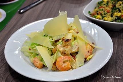 karidesli sezar salata
