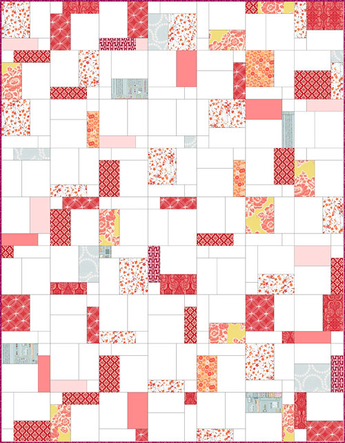 Easy Quilt With Three Fabrics : Charity quilt block tutorial Jessie Aller