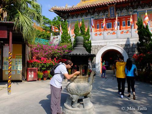 Monasterio de Po Lin en Hong Kong