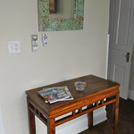 Antique Asian table for keys and personal items