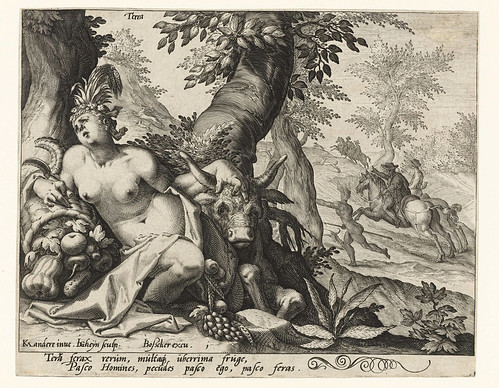 008-El elemento tierra, Jacob de Gheyn (II), 1588-Rijksmuseum API Collectie