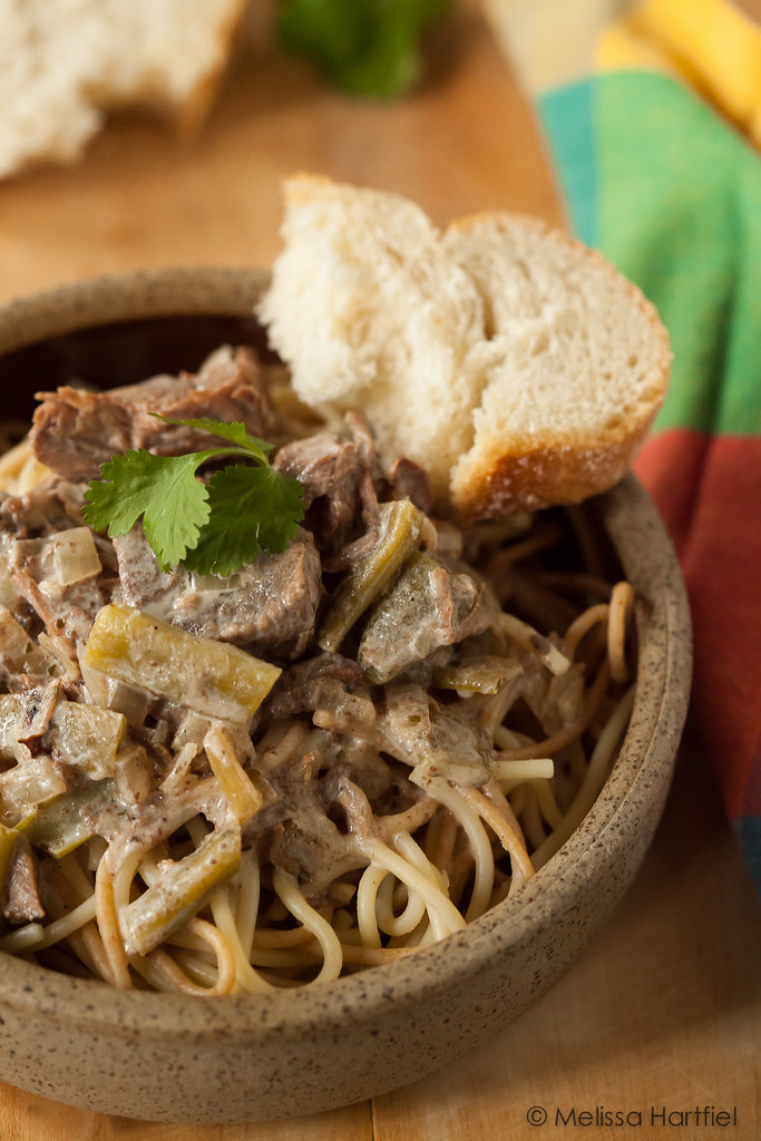 Slow Cooker Beef Stroganoff | Eyes Bigger Than My Stomach