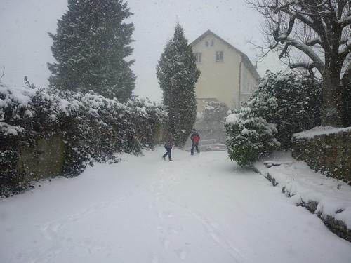 tempète de neige